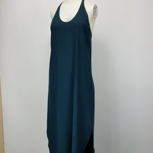 Aritzia Wilfred XS Colonne Green Racerback Dress